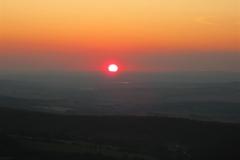 Západ slunce nad Arnikou